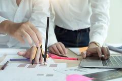 Startup Diversity Teamwork Brainstorming Planning Partnership Concept. Stock Images