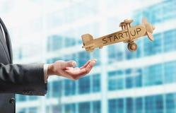 Startup funktionsdugligt företag Royaltyfri Bild