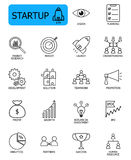 Startup icon. Set of Startup related vector line icon. Editable stroke with 48 x 48 pixel Stock Photography