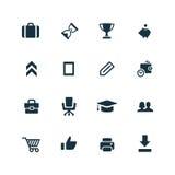 Startup icons set Stock Image