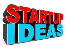 Startup ideas Royalty Free Stock Photo