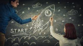Startup royalty free stock image