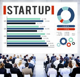 Startup New Business Growth Sucess Development Concept Royalty Free Stock Photography