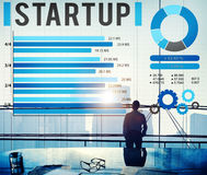 Startup New Business Growth Sucess Development Concept Royalty Free Stock Photos