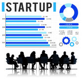 Startup New Business Growth Sucess Development Concept.  Stock Photos