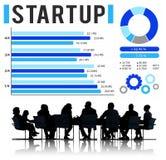 Startup New Business Growth Sucess Development Concept Stock Photos