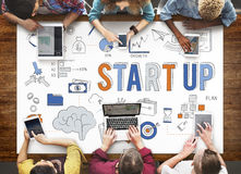 Startup New Business Launch Development Concept stock photo