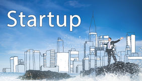 Startup New Business Vision Strategy Launch Concept Stock Photography