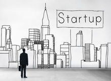 Startup New Business Vision Strategy Launch Concept Stock Photos