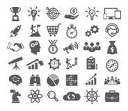 Startup symbolsuppsättning royaltyfri illustrationer
