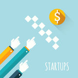 Startups Royalty Free Stock Photography
