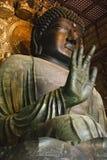 Starue di Daibutsu del tempio del Giappone Nara Todai-ji Immagine Stock