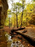 Starved Rock State Park Royalty Free Stock Photo