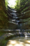 Starved Rock Waterfall Stock Image