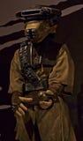 Starwars-Ausstellung Jabbas Schutz Disguise Lizenzfreies Stockbild