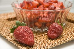 Starwberries Stockfotos