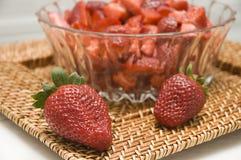 Starwberries Fotografie Stock