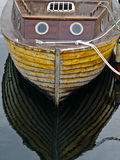 stary łódkowaty połów Fotografia Stock