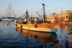 stary łódkowaty połów Obrazy Stock