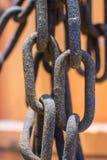 stary łańcuszkowy rusty zdjęcie royalty free