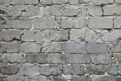 Stary łamający szary ściana z cegieł tło Stare szarość uszkadzali ściana z cegieł teksturę, Szarego ceglanego tło i teksturę dla, Zdjęcie Stock