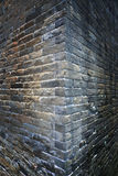 Stary ściana kąta backgound obraz royalty free