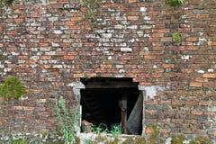 Stary ściana z cegieł Zdjęcia Stock