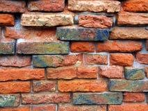 Stary ściana z cegieł Zdjęcia Royalty Free