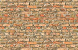 Stary ściana z cegieł Fotografia Royalty Free