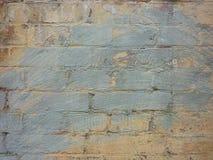 Stary ściana z cegieł malujący graffiti tekstury tło zdjęcie stock