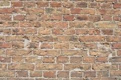 Stary ściana z cegieł tło Obrazy Royalty Free