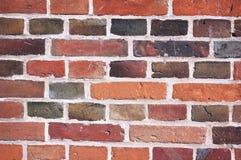 Stary ściana z cegieł tło Zdjęcia Royalty Free