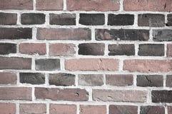 Stary ściana z cegieł tło Zdjęcie Stock