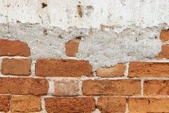 Stary ściana z cegieł tło lub tekstury ściana z cegieł zdjęcia stock