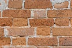 Stary ściana z cegieł tło lub tekstury ściana z cegieł Obraz Stock