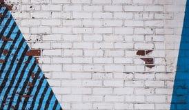 Stary ściana z cegieł tekstury wzoru grunge tło Obraz Royalty Free