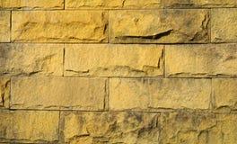 Stary ściana z cegieł w tło wizerunku Obraz Stock