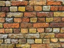 Stary ściany z cegieł Suffolk wybrzeże zdjęcia stock