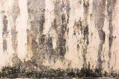 Stary ścienny czarny plamy tło Obrazy Royalty Free