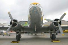 stary śmigło samolotu Obraz Stock