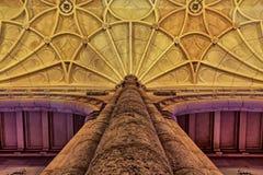 Stary średniowieczny opactwo zdjęcie stock