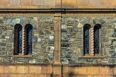 Stary średniowieczny opactwo obraz stock