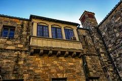 Stary średniowieczny opactwo zdjęcie royalty free