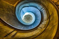 Stary Średniowieczny schody zdjęcia stock