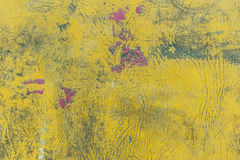 Żółty tło. Zdjęcie Royalty Free