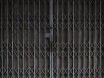 Stary żaluzi drzwi zdjęcie royalty free