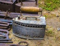 Stary żelaza żelazo zdjęcie stock