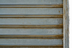 Stary żelazny drzwiowy tło Zdjęcie Royalty Free