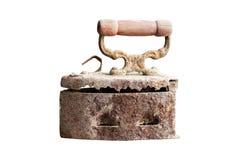Stary żelazo, węgla żelazny flatiron obrazy royalty free