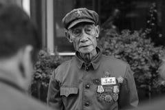 stary żołnierz Obraz Stock